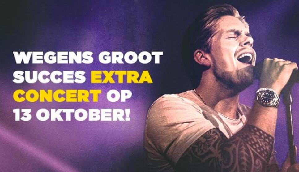 Eerste grote soloconcert voor André Hazes in Vlaanderen!